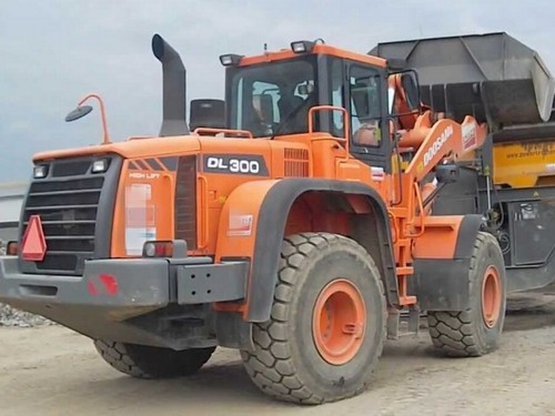 Daewoo Doosan Dl300 Wheel Loader Excavator Service Repair Manual
